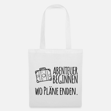 Bug Adventure begins where plans end - Tote Bag