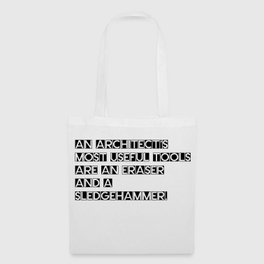 Architecture - useful tools for an architect - Tote Bag
