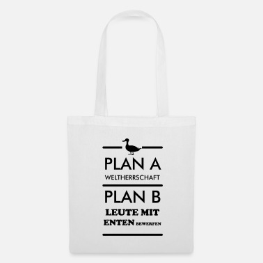 Domination Du Monde Plan World domination canards jettent un cadeau amusant - Tote Bag