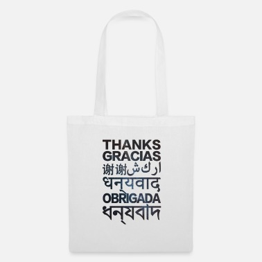 Hindi THANKS - Bolsa de tela
