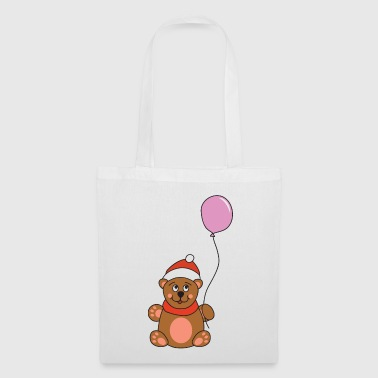 Moose Cute Teddy Bear Balloon Christmas Xmas - Tote Bag