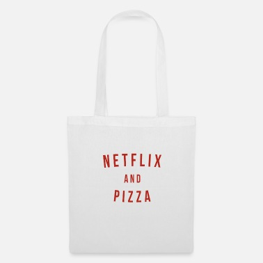 Netflix NETFLIX AND PIZZA - Tote Bag