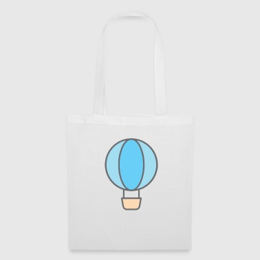 Fighter Jet Balloon - Tote Bag