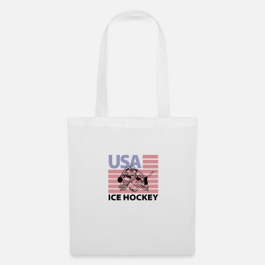 Record Champion USA ice hockey flag - Tote Bag