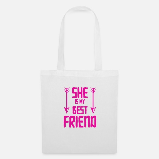 Love Bags & Backpacks - friends - Tote Bag white