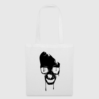 skull bad melting - Tote Bag