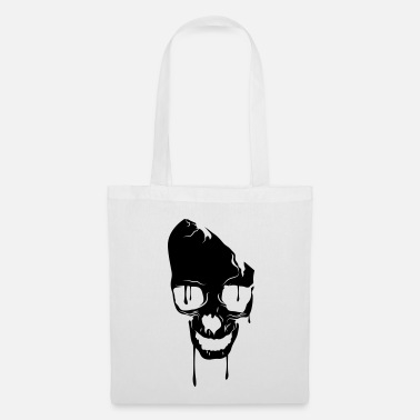 Skull skull bad melting - Tote Bag
