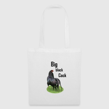 Big black cock - Tote Bag