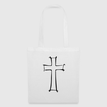 Cross outline - Tote Bag
