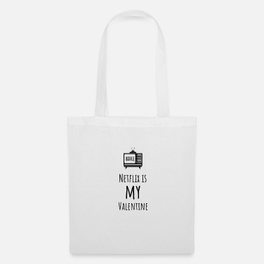 Netflix Anti Valentine's Day - Tote Bag