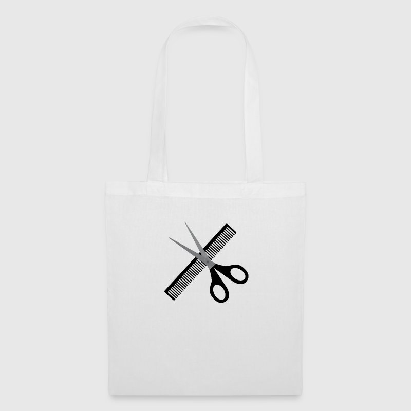 Scissors and comb - Tote Bag