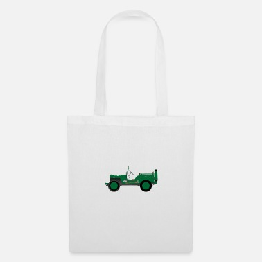 Vehicle Army vehicle - Tote Bag