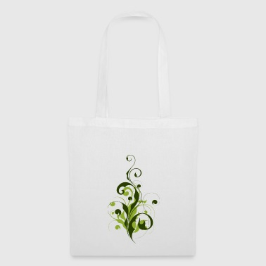 Abstrakte Pflanze - Blume - Flora - Tote Bag