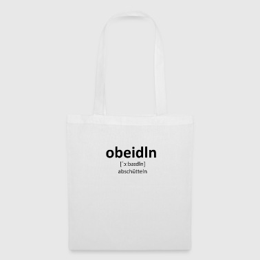 Dialect Obeidln dialect - Tote Bag