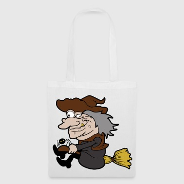 Witch Halloween Monster Zombie Horror - Tote Bag