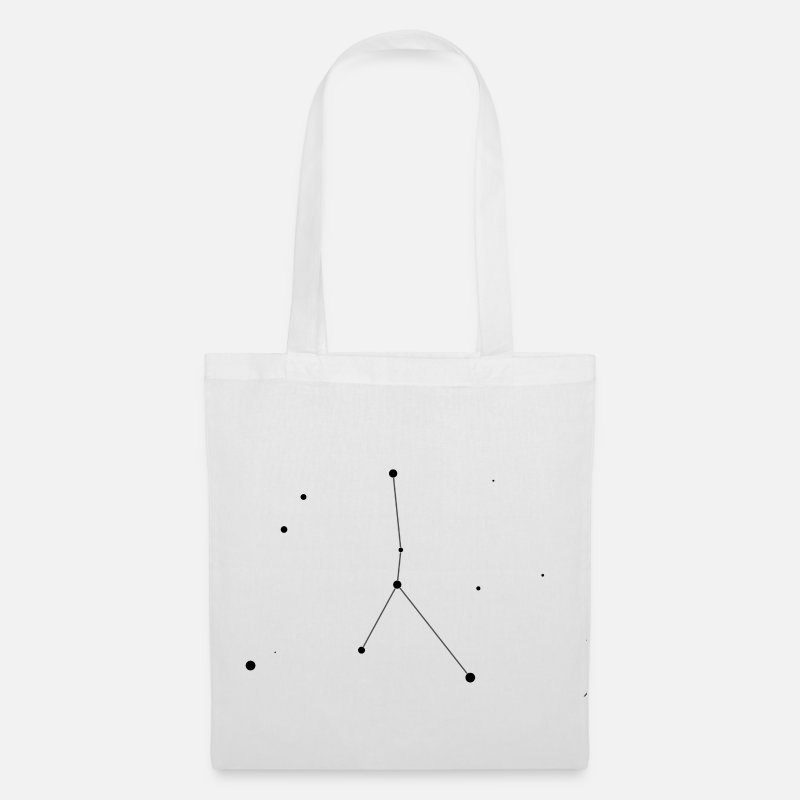 Space Bags & Backpacks - Cancer Constellation - Tote Bag white