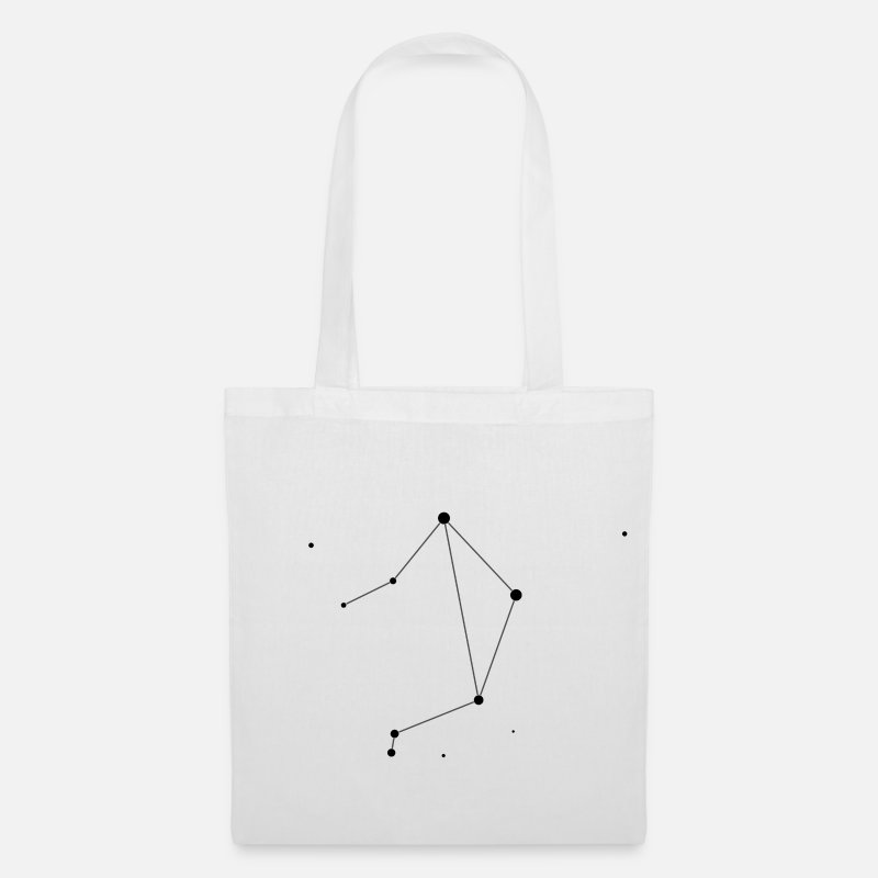 Space Bags & Backpacks - Libra Constellation - Tote Bag white