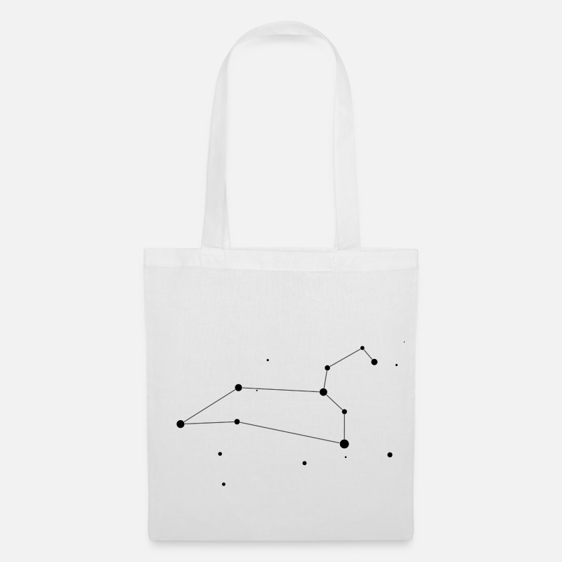 Leo Bags & Backpacks - Leo Constellation - Tote Bag white