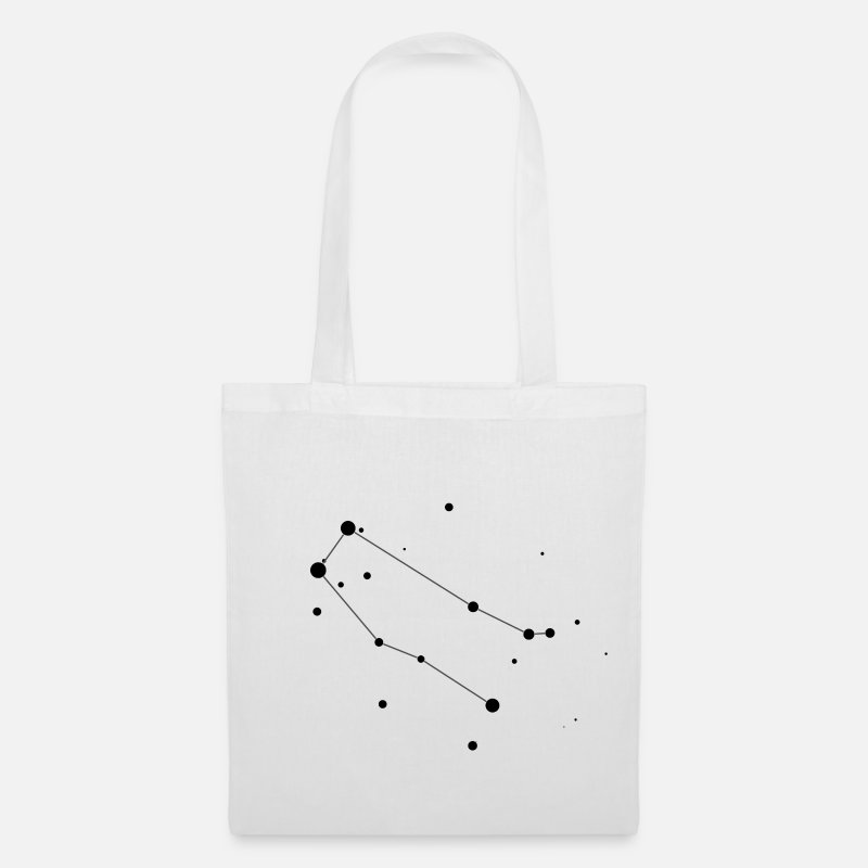 Space Bags & Backpacks - Gemini Constellation - Tote Bag white