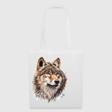 Wolf Painting - Tote Bag