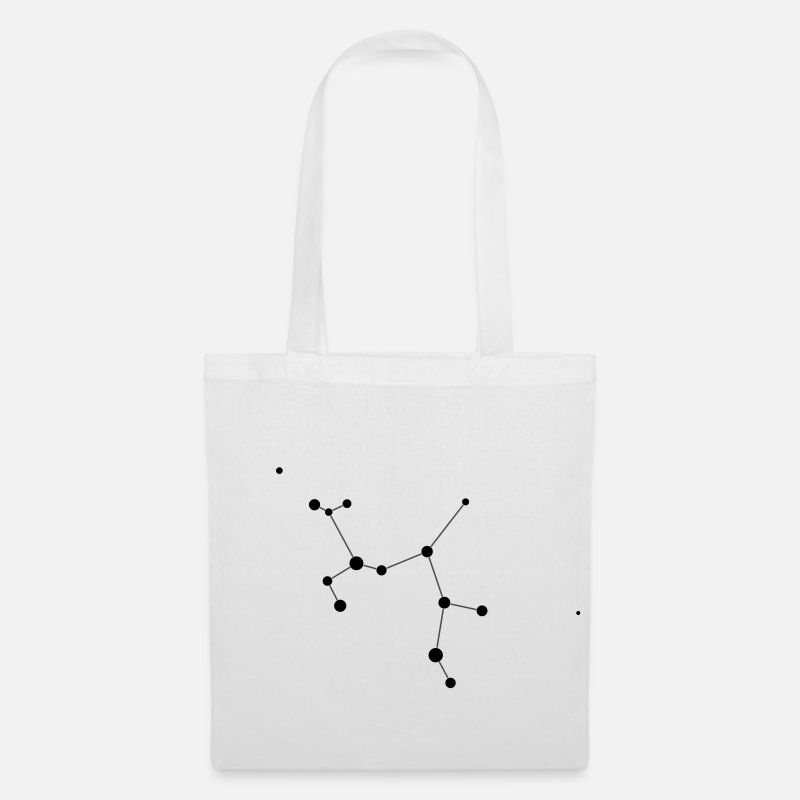 Constellation Bags & Backpacks - Sagittarius Constellation - Tote Bag white