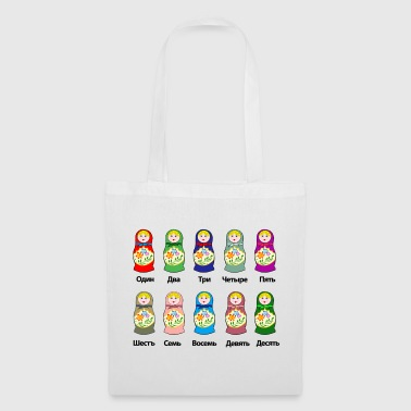 Counting Matryoshkas - Tote Bag