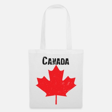 Grungy Grungy Maple leaf design - Tote Bag
