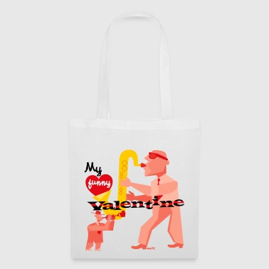 My funny valentine. jazz - Tote Bag