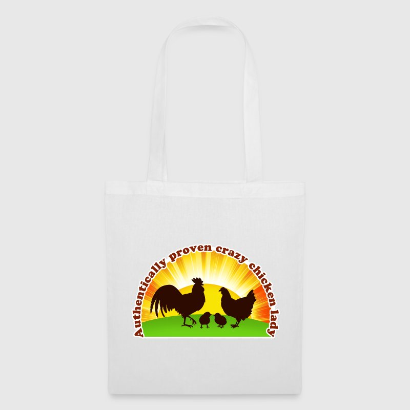 Crazy chicken lady - Tote Bag