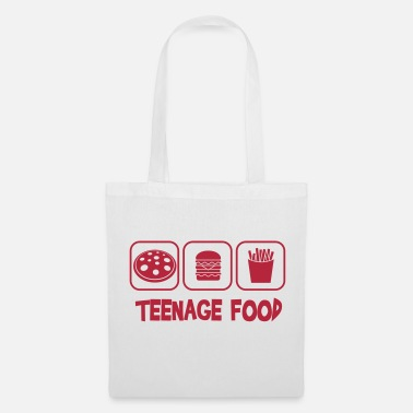 Teenager Teenage food - Sac en tissu