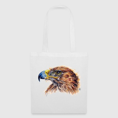 Aigle aquarelle - Tote Bag