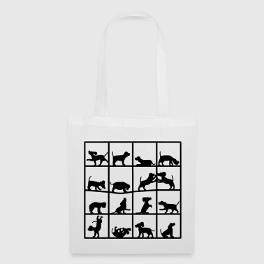 Dog Cube Beagle - Tote Bag
