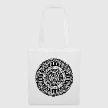 mandala_01_black - Tote Bag