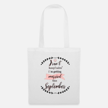 Jeune i_cant_keep_calm_september - Tote Bag