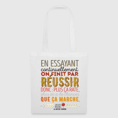 La Devise Shadok n°1 - Tote Bag