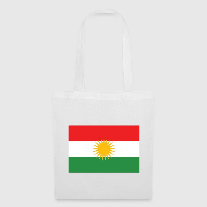 Kurdish Flag - Stoffveske
