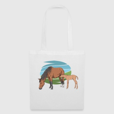 Mare and Foal - Tote Bag
