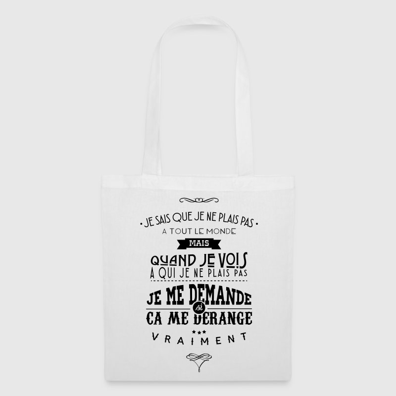 Citations made in Belgique - Tote Bag