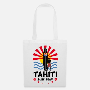Polynésie Tahiti surf team - Tote Bag