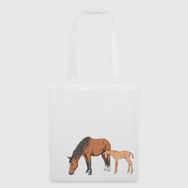 Mare Mare and Foal - Tote Bag
