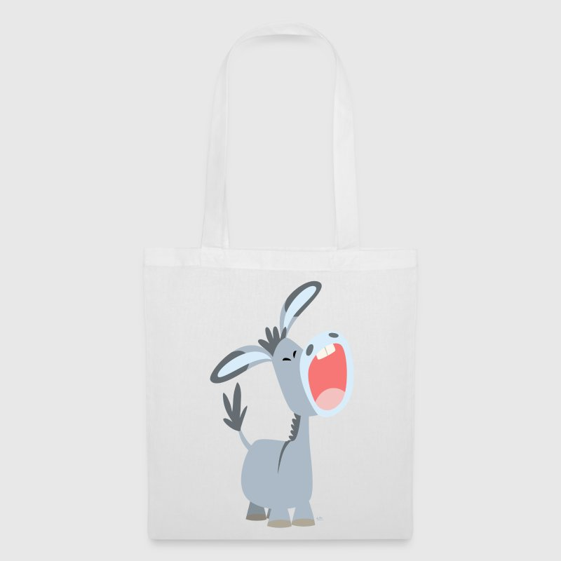 Cute Cartoon Donkey - Tote Bag
