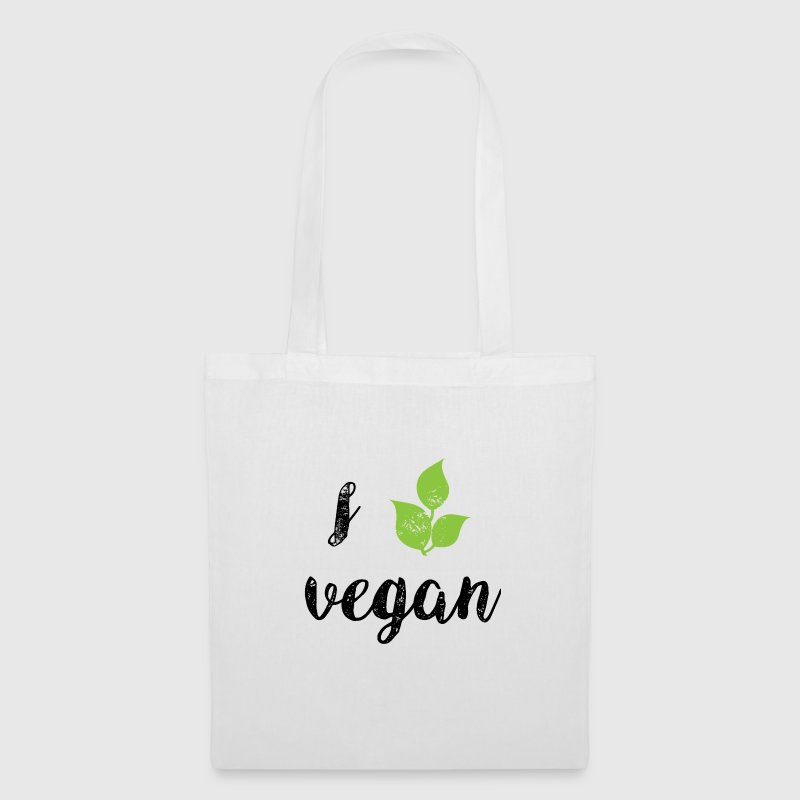 I Love Vegan - Tote Bag
