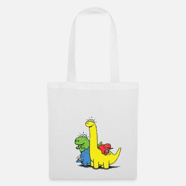 Collections Dino Gang, Colored - Tote Bag