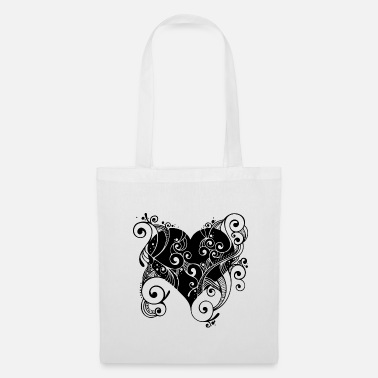 Tatoo Cuore Tatoo - Borsa di stoffa