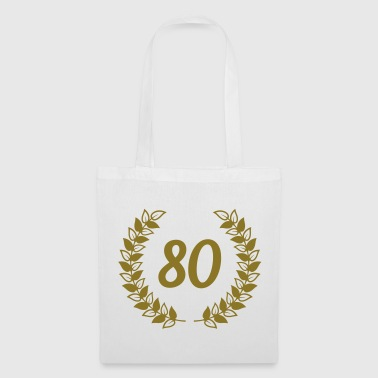 80th birthday - Tote Bag