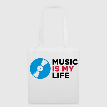 Music Is My Life - Tote Bag
