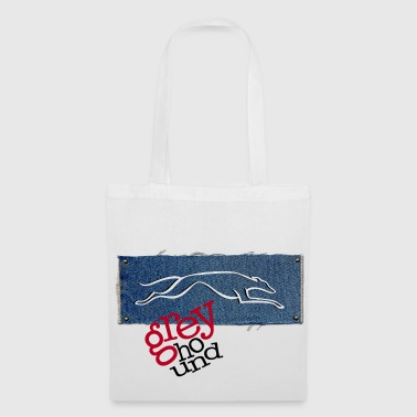GrEyHoUnD - Tote Bag