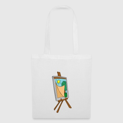 painting - Tote Bag