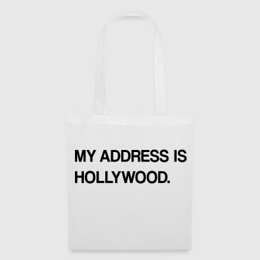diseño de Hollywood - Bolsa de tela