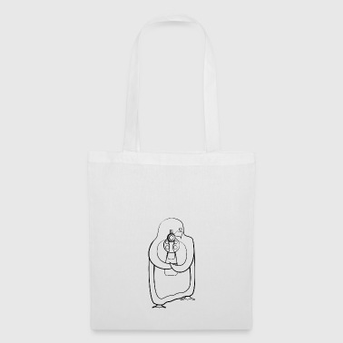 killer pinguin - Tote Bag